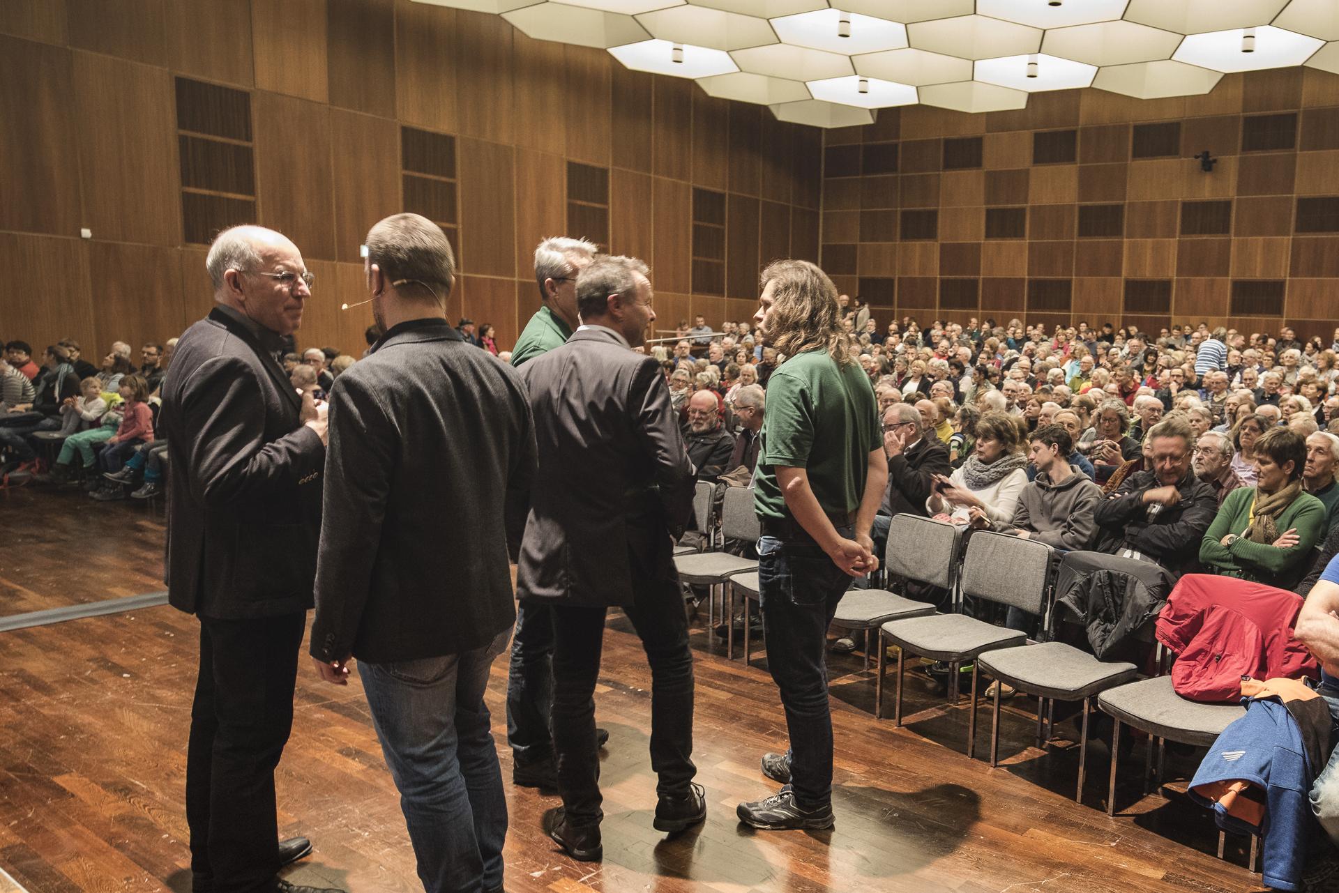 Die Referenten der Multivisionsshow  (Foto: G. Schenk)
